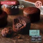 バレンタインCA-2 プレミアムガトーショコラ4個入 お取り寄せ ギフト スイーツ お菓子 チョコレート ケーキ カップケーキ 個包装 洋菓子 28547