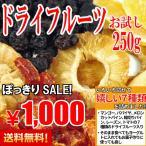 ポイント消化 訳あり 人気の7種類が入った ドライフルーツ お試しセット パパイヤ トマト マンゴー 送料無料