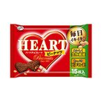 不二家 ハートチョコレート(ピーナッツ) 15枚
