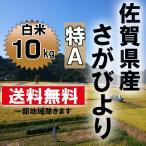 【令和元年産 特A米】 佐賀県産 さがびより 白米10kg