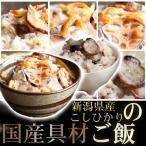 簡単調理 新潟県産 丼ご飯 カレーライス 玄米 おにぎり コシヒカリ 昆布 れんこん こしひかり インスタント食品 混ぜご飯 まぜごはん 炊き込みご飯  新潟産