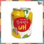 ★韓国食品/お飲み物★ヘテ すりおろし梨ジュース 238ml 缶