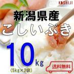 米 10kg (5kg×2) 送料無料 新潟県産 こしいぶき H30年産