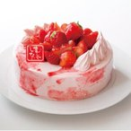 ミラクル*いちご4号 12cm ケーキ 小麦粉 卵 乳成分 不使用 アレルギー対応 アレルギーフリー 誕生日 グルテンフリー プレゼント