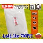 29年宮城県産つや姫1kgお試し米送料無料