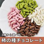 チョコレート 柿の種チョコ 選べる3種類の 柿の種チョコレート メール便