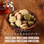 おからクッキー 6つのZERO!4種の味の 豆乳おからクッキー 4種ミックス 500g(250g×2袋) チャック付き メール便A  TSG