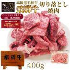 肉 牛肉 バーベキュー 焼肉 訳あり 飛騨牛 切り落とし 400g 黒毛和牛 BBQ 焼き肉