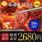 牛ハラミ600g BBQに大活躍 ホルモン 牛肉 冷凍食品 特産品 名物商品 バーベキュー用 牛 お試し 訳あり 牛肉 大阪 ギフト 食品ロスを減らそう