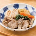 (食品 惣菜 料理 冷凍食品) 菊菜としめじの肉豆腐