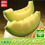 果物 メロン 詰め合わせ ギフト ギフトランキング 送料無料 静岡県産 クラウンメロン 1玉 食べ頃保証付き プレゼント フルーツ 旬(gn)