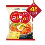 『Paldo』ラッポキ(4個入りパック)■1個当り119円 パルド 韓国ラーメン インスタントラーメン トッポキ 辛い 韓国料理