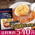 【お試し用】コストコで1000万食突破のオニオングラタンスープ 2食入り 送料無料の特別価格 玉ねぎスープ インスタント PILLBOX ピルボックス