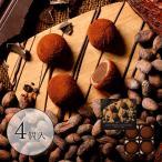 京都ショコラ大福(4個入)(吉祥菓寮 チョコ餅 ホワイトデー 京都 お土産 スイーツ ギフト お取り寄せ チョコレート 生チョコ)