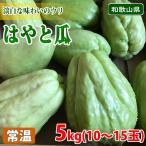 和歌山県産 はやと瓜(ハヤトウリ・隼人瓜) 5kg