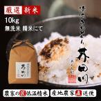 予約生産販売 令和元年秋収穫 米 10kg 無洗米にて精米 清流きぬひかり芥田川 農家 産地直送