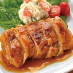 冷凍食品 業務用 袋のままレンジでチキンステーキ(オニオンソース)150g    お弁当 メイン 弁当 一品 鶏肉 惣菜 洋食