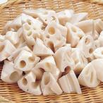 冷凍食品 業務用 れんこん乱切 500g (約55-70枚入)    お弁当 簡単 時短 カット野菜 レンコン 蓮根