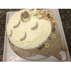 ショートケーキ トト キャラクターケーキ デコレーションケーキ 直径12cm相当2ー3名様サイズ