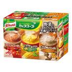 味の素 クノール カップスープ 野菜のポタージュ バラエティボックス(完熟トマト・つぶコーン・きのこ)3種20食入