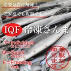 IQF冷凍サンマ・さんま・秋刀魚 3.7kg(25尾)
