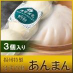 あんまん 蓮蓉甜包 3個入り 職人手作り揚州特製はすの実あんまん 横浜中華街 揚州飯店 冷蔵品